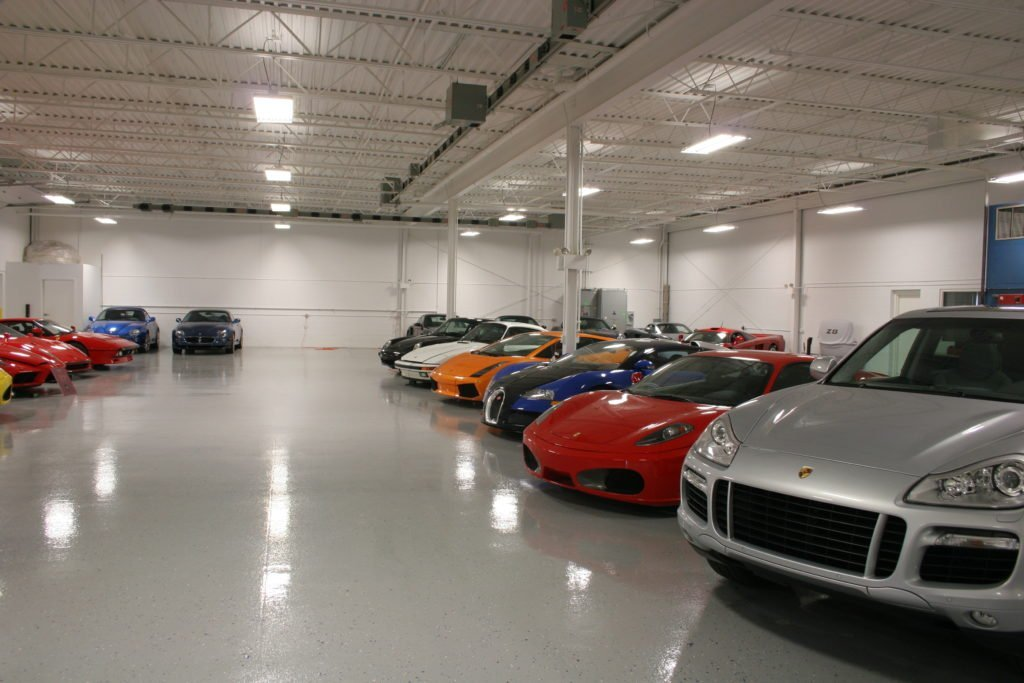 Exotic Car Garage Detroit